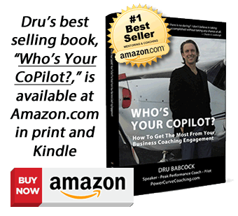 Business Coaching Book, Who's Your Copilot?, available at amazon.com